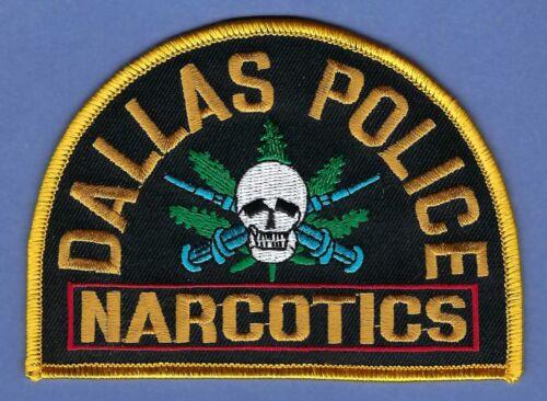 DALLAS TEXAS POLICE NARCOTICS ENFORCEMENT DIVISION SHOULDER PATCH
