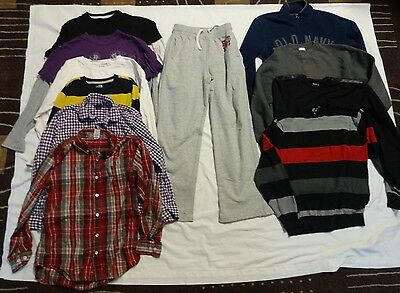 Boy's Used Winter Clothes 11 piece Lot Size M/L 10/12
