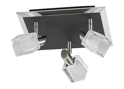 LAMPARA PLAFON DE TECHO LED DE 3 FOCOS G9 3x40W