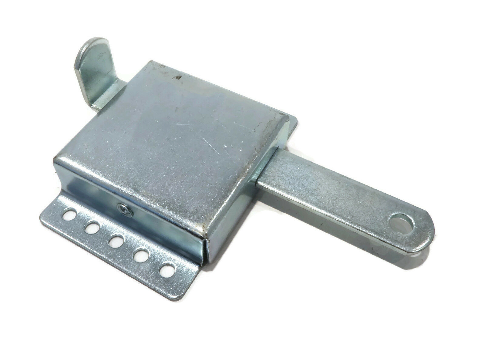 """New GARAGE SIDE LOCK for 2/"""" or 3/"""" Track Zinc Plated Latch Interior Security Bar"""