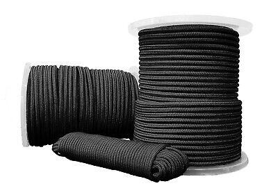 Polypropylen seil Polypropylenseil PP Tauwerk Geflochten Schwarz 8mm 10m  gebraucht kaufen  Hochkirch