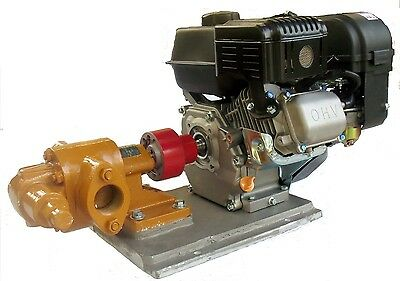 Gas Powered Wvo Oil Transfer Gear Pump For Motor Oil Biodiesel By Us Filtermaxx