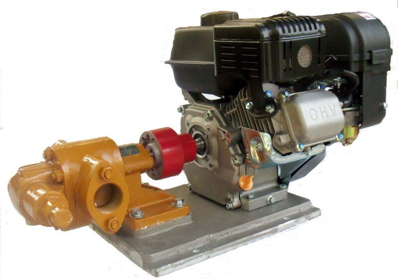 Oil Transfer Gear Pump for Motor Oil, Biodiesel, WVO, WMO. Gas Powered!