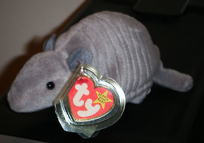 Ty Beanie Baby ~ TANK the Armadillo ~ MINT with MINT TAGS ~ RETIRED