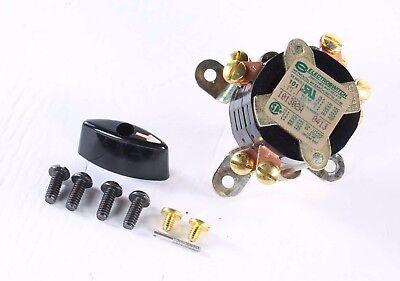 101302a Electroswitch Rotary Switch W Knob