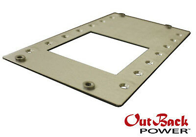 Outback Power Fw-mb3-f Flexware Mate3 Flat Mount Kit