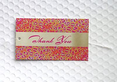 100 Hang Tags Accessories Tags Cute Thank You Tags Clothing Tags Plastic Loops