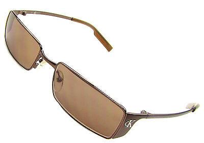 Calvin Klein cK 2042-180 Sunglasses, Espresso, Brown Lenses/Flash, (Cheap Calvin Klein Sunglasses)