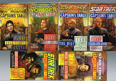 Star Trek  Captainstable Volumes 1   6  All Paperbacks