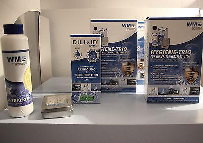Hygiene-Trio WM Aquatec b. 40 Liter Frischwassersystem 3er Set Camping Silvertex