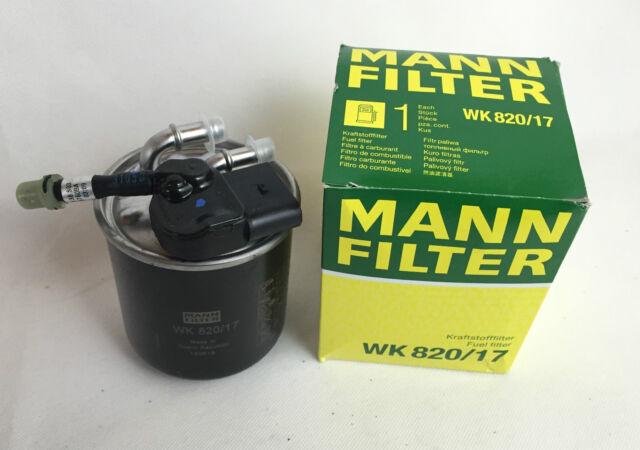 MANN-Filter Kraftstofffilter Dieselfilter Mercedes W212 S212 W204 S204  WK820/17
