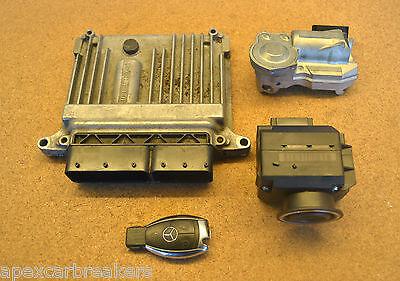 Mercedes E220 CDi Ecu Set A6461503272 W211 Ignition Switch Set 2006-2009