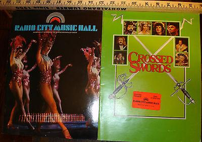 Vintage Lot of TWO 1978 Radio City Music Hall Souvenir Programs Raquel Welch