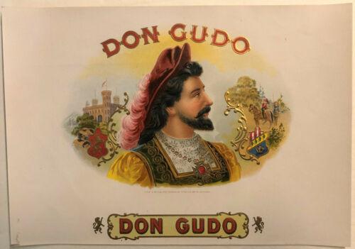 Don Gudo Original Unused Vintage 1920