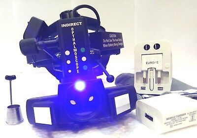 Indirect Ophthalmoscope With Accessories Optometry Medical Specialties Freeship