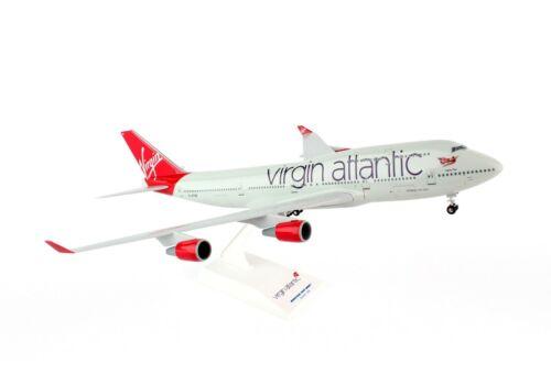 SKYMARKS (SKR672) VIRGIN ATLANTIC 747-400 1:200 SCALE PLASTIC SNAPFIT MODEL