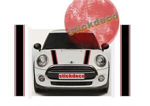 2 X BANDES CAPOT POUR MINI COUNTRYMAN DECO AUTO STICKER BD419-4* Reclamevoorwerpen Verzamelingen