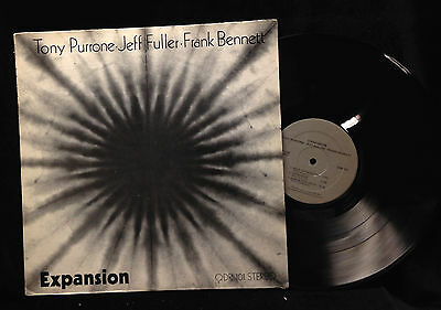 Tony Purrone/Jeff Fuller/Frank Bennett-Expansion-Quadrangle 101-PRIVATE PRESS