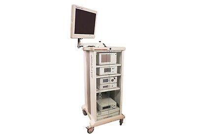 Stryker Endoscopy Laparoscopy Arthroscopy Tower Set Used