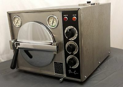 Autoclave Sterilizer Pelton Crane Ocm Omniclave Tattoo Veterinary Salon Warranty