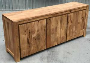 - SOLID ACACIA BUFFET SIDEBOARD - NEW - Richmond Yarra Area Preview