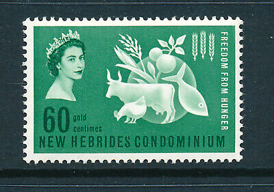 NEW HEBRIDES 1963 FREEDOM FROM HUNGER CROWN AGENTS OMNIBUS  MNH