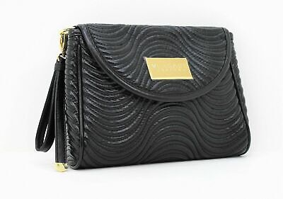 VERSACE BLACK LADIES CLUTCH / HANDBAG / EVENING CLUTCH / BAG  WITH DUST COVER