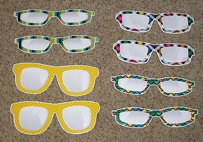 Jumbo Bulletin Board - Teacher Resource: 8 Jumbo Eyeglasses Bulletin Board Accents - 10