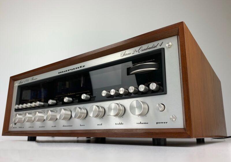 Complete Professional Restoration Service For Marantz 4270 Stereo/Quad Receiver