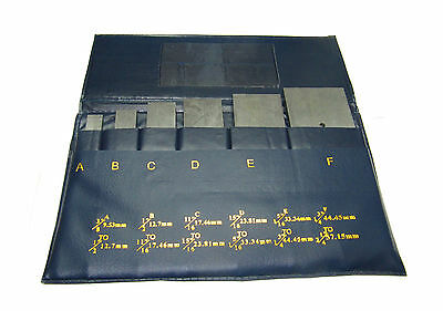 New 6pc Adjustable Parallel New Set 38 - 2-14