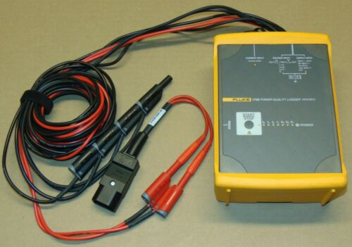 Fluke 1743 Three Phase Power Quality Logger Memobox Analyzer