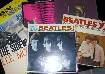 Clean Lot Classic Rock Jazz Blues Lps  Pick 4 From The List  Beatles Pink Floyd