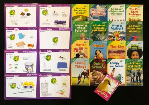 Pearson Interactive Science Kindergarten Curriculum Materials - Books & Audio CD