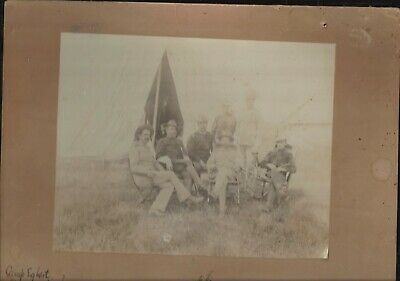 Spanish American War Photo Officers 7th US Cavalry Incl. Edward S Godfrey