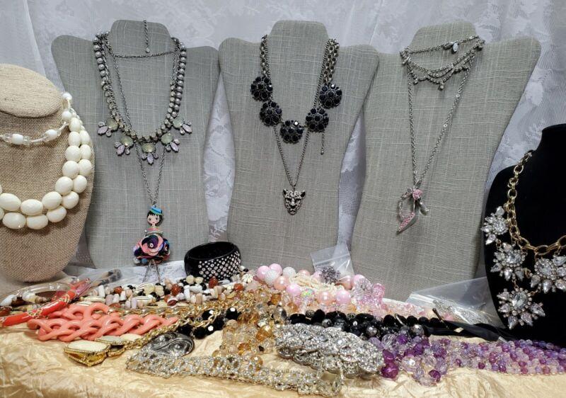 Craft Jewelry Lot Vintage to Now Ali Khan NY Loft Traci Lynn JL-149