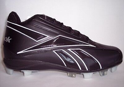 59a8d3bcd62 Reebok NFL Size 16 Pro Thorpe Mid MSL Black Football Cleats New in Box