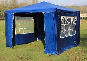 NEW ON SALE - 3x3m Gazebo Outdoor Marquee Tent Canopy Blue Silverwater Auburn Area Preview