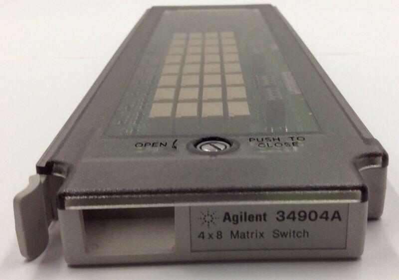 Agilent 34904A 4x8 Matrix Switch