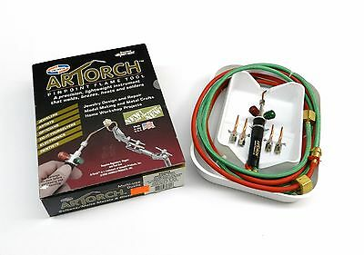 Artorch Little Torch Uniweld Torch Metalcrafts Kit W 5 Tips Jewelry Australian