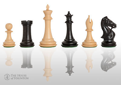 (USCF Sales The Leicester Chess Set - Pieces Only - 4.0