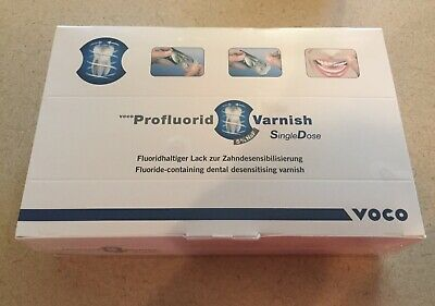 Voco Single Dose Fluoride Varnish 50 Caramel