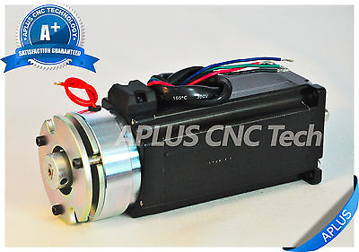Nema 23 Stepper Motor With Brake 396oz-in 112mm 4.2a 1.8degree 4wires