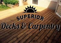 Superior Decks & Carpentry