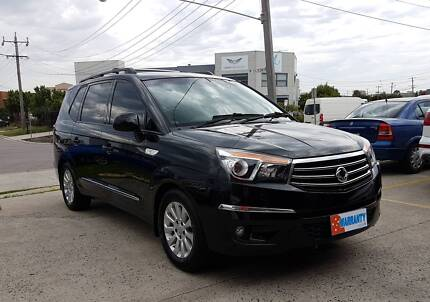 2014 SsangYong Stavic  w/ 7 Seats, Leather Int. & Parking Sensors Tullamarine Hume Area Preview