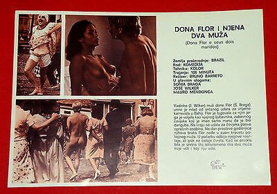 DONA FLOR AND HER TWO HUSBANDS 1976 SEXY SONIA BRAGA UNIQUE EXYU MOVIE