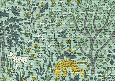 Robert Allen Fabric Dwell Studio Folkworld Aquatint  Cotton Drapery Upholstery