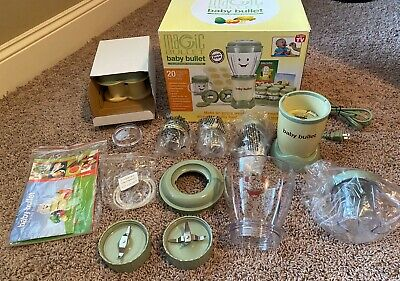 RARE MAGIC BABY BULLET Food Blender Processor COMPLETE IN BOX - FAST SHIPPING!