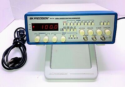 Bk Precision 4017a 10mhz Sweepfunction Generator Tested Free Shipping