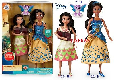 Disney Store Elena of Avalor Deluxe Singing Doll with Isabel Jaquin Set 2017 (Elena Of Avalor Deluxe Singing Doll Set)