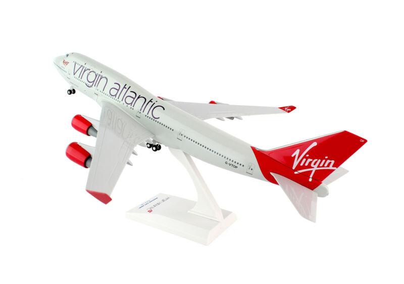 SkyMarks Virgin Atlantic (UK) Boeing 747-400 SKR672 1/200 Reg#G-VTOP w/Gear. New